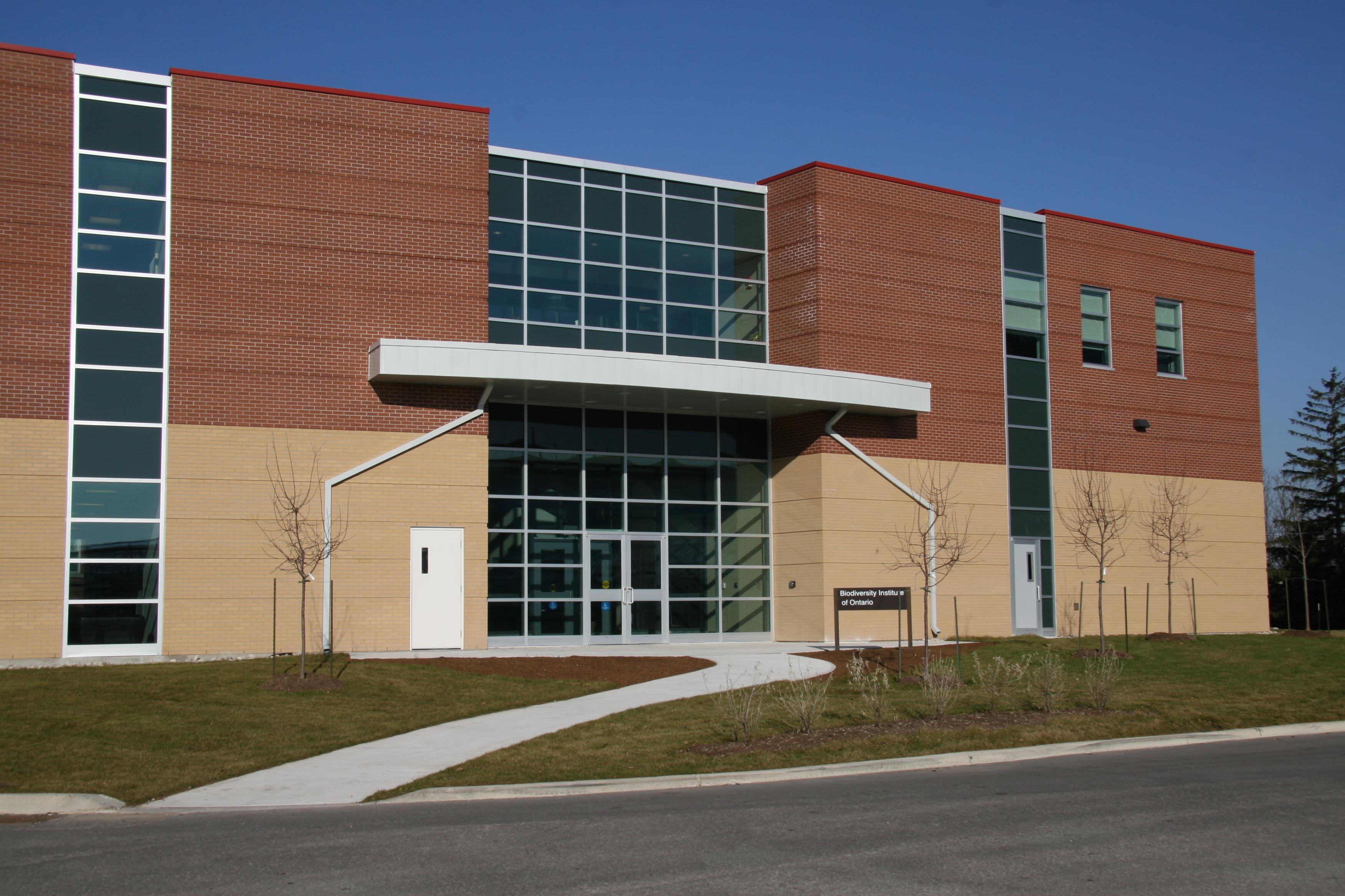 Biodiversity Institute of Ontario (BIO) building, home of CCDB